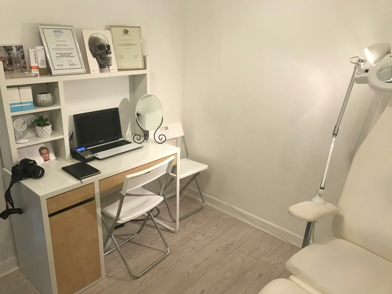 Treatment Area at Liebe Aesthetics
